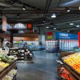 interno negozio Carrefour